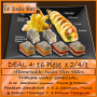 Dine In ADVOCATE DEAL 4 / 32 pieces @ R162.17 for this 2/4/1 deal.